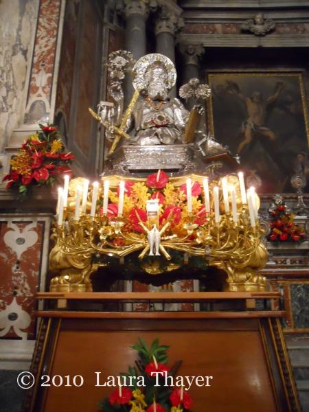 Sant' Andrea Statue, Duomo of Amalfi