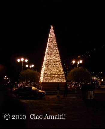 Christmas Tree Night Amalfi 2010