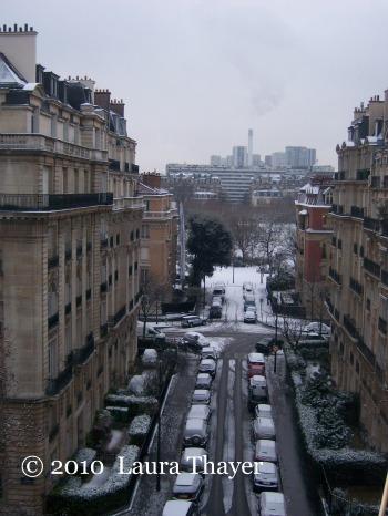 Champ de Mars Snow