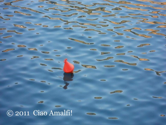 Winter Water Reflection Amalfi