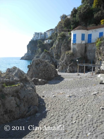 Amalfi February Beach