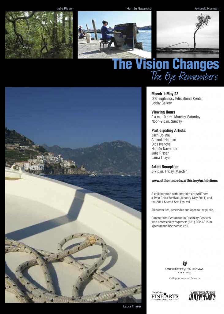 The Vision Changes The Eye Remembers Exhibit