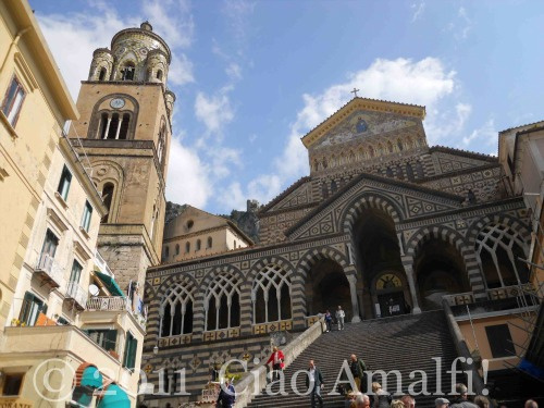 Duomo of Amalfi Spring