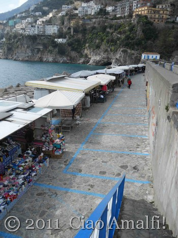 Market at the Port of Amalfi
