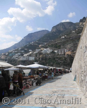 Market Day in Amalfi
