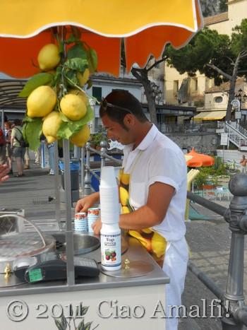 Andrea's Granita di Limone in Amalfi