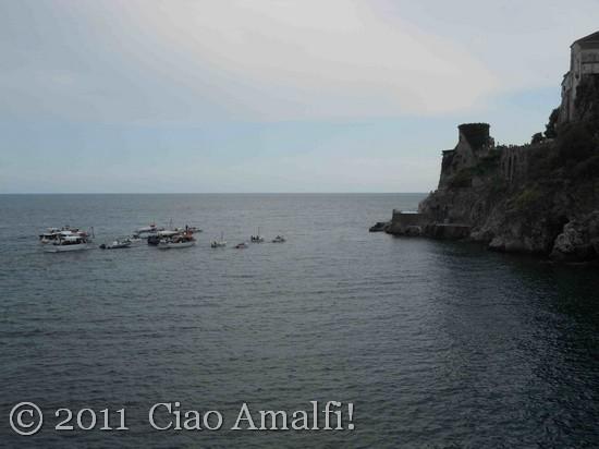 Festival of Sant'Antonio Boat Procession Hotel Luna Amalfi
