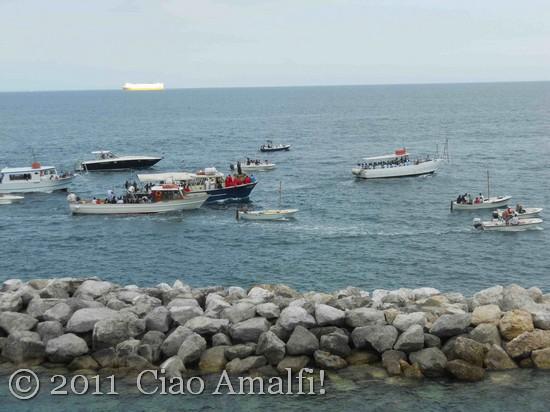 Festival of Sant'Antonio Boat Procession Amalfi 2011