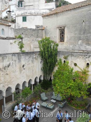 Ciao Amalfi Coast Blog Festival of Sant'Antonio Cloister Hotel Luna