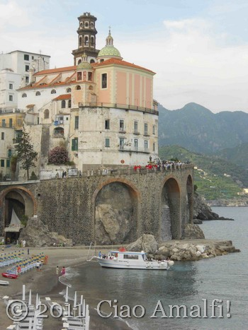 Ciao Amalfi Coast Blog Festival of Sant'Antonio Procession in Atrani