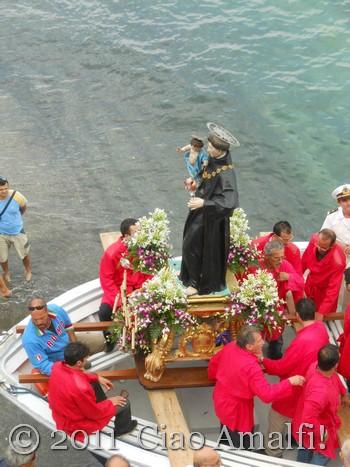 Ciao Amalfi Coast Blog Festival of Sant'Antonio Statue
