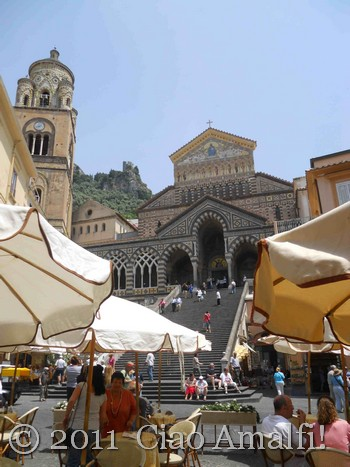Piazza Duomo in Amalfi