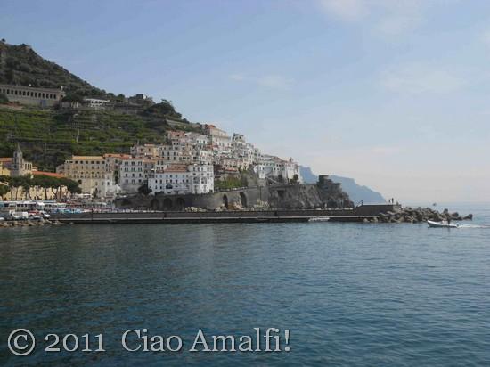 Amalfi Harbor in the Spring