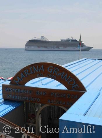 Marina Grande Restaurant Amalfi