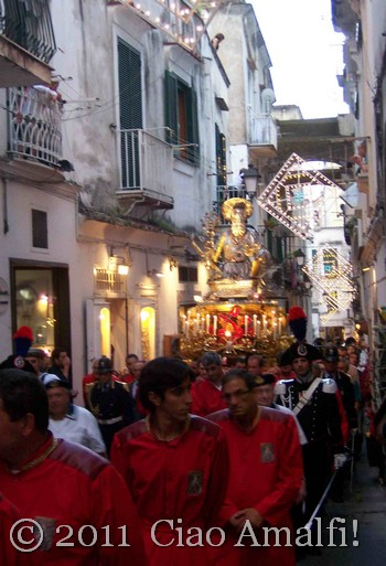 Procession for Sant' Andrea in Amalfi