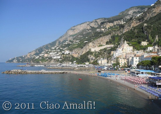 Summer Morning in Amalfi