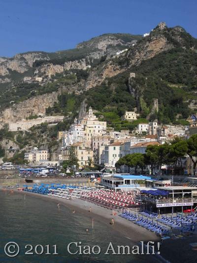 Amalfi June Marina Grande Beach
