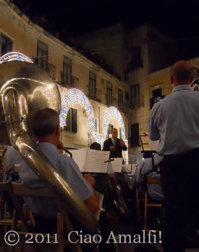 Ciao Amalfi Coast Blog Atrani La Maddalena 2011 Band