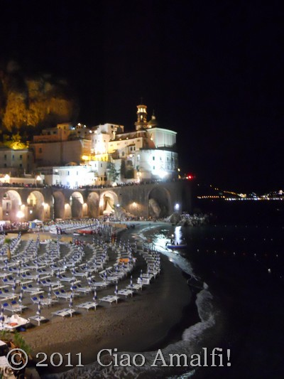 Ciao Amalfi Coast Blog Atrani La Maddalena 2011 Beach