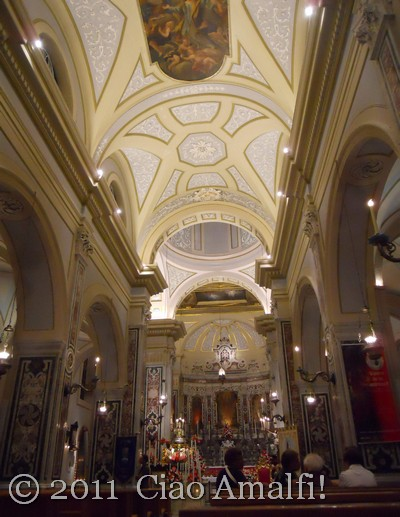 Church of La Maddalena in Atrani