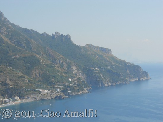 Amalfi Coast Maiori Mountains