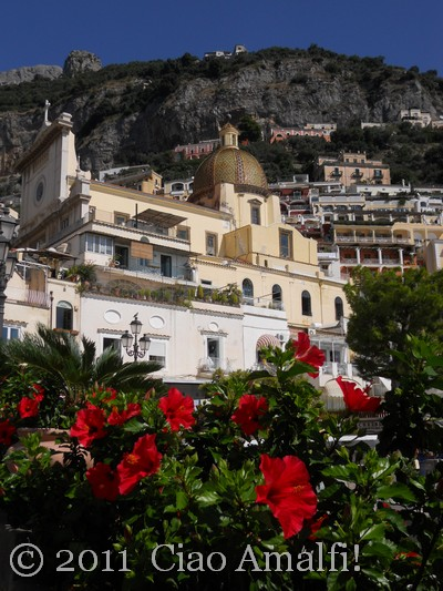 Positano in October