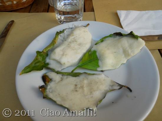 Lunch at da Adolfo in Positano