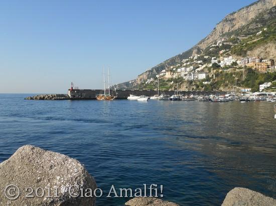Walking in Amalfi