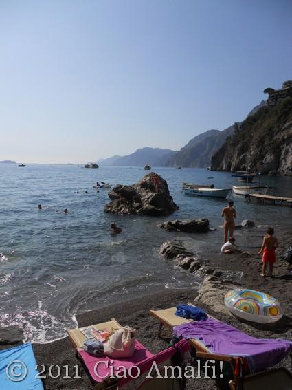 View of Amalfi Coast from Positano