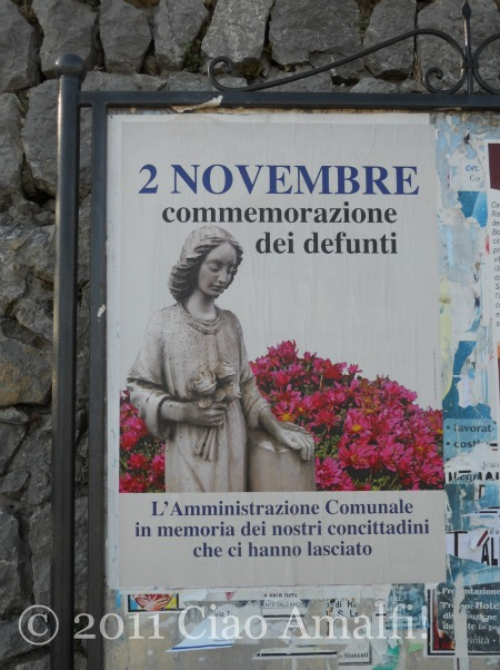 All Souls Day on the Amalfi Coast