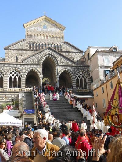 Festival of St. Andrew in Amalfi
