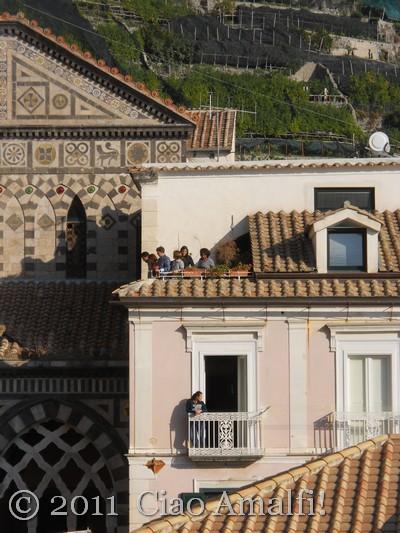 Religious festival on the Amalfi Coast