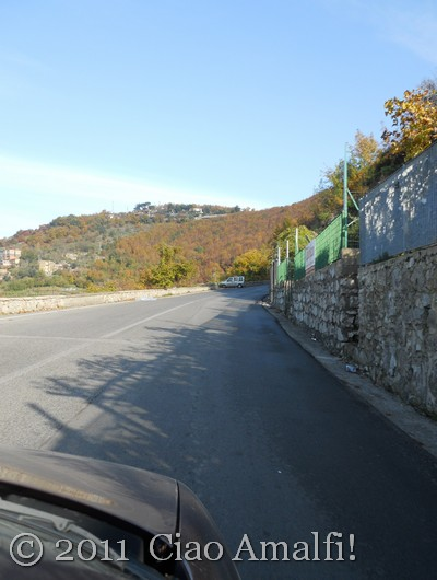 Autumn drive to the Amalfi Coast