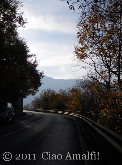 Autumn on the Amalfi Coast Tramonti