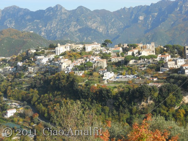 Ravello in the autumn