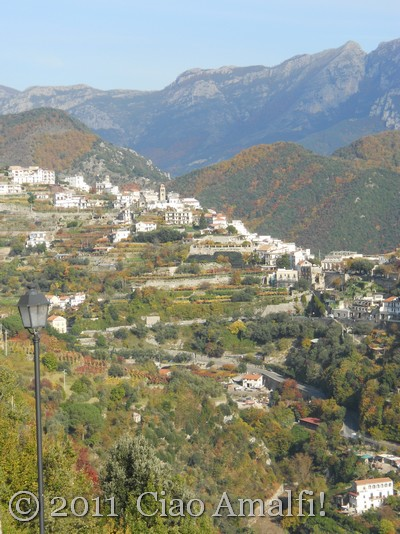 Autumn in Ravello on the Amalfi Coast