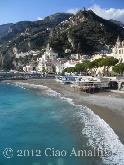 Marina Grande Beach in Amalfi
