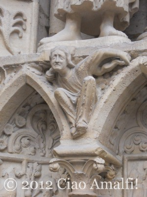 Detail from the Facade of Notre-Dame