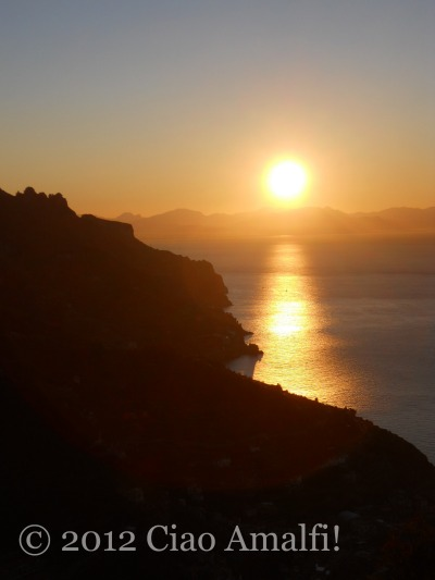Magical Sunrise on the Amalfi Coast
