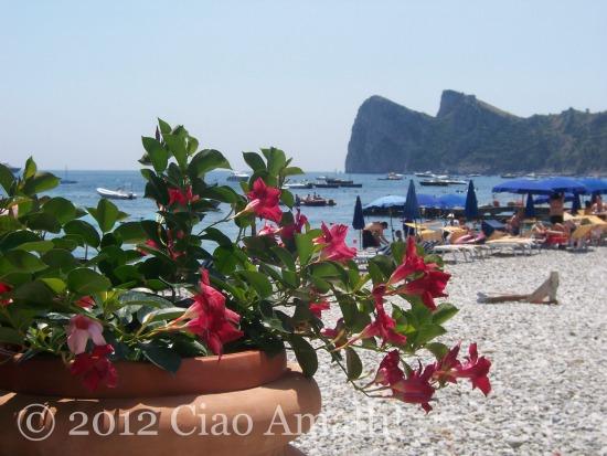 Marina del Cantone Romantic Beach Amalfi Coast Nerano