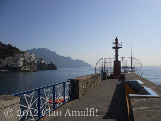 Romantic spots in Amalfi