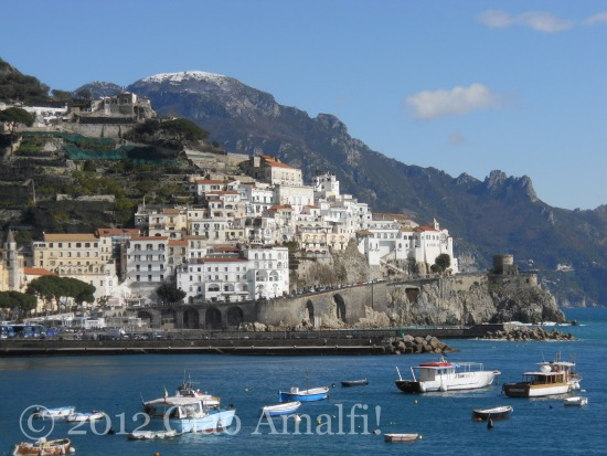 Amalfi Coast Italy Harbor
