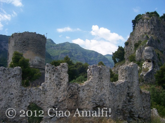 Medieval watchtower Amalfi Coast