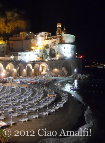 Amalfi Coast Romantic Night Spot