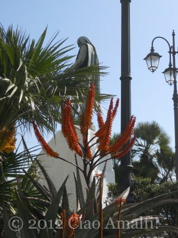 Piazza Flavio Gioia in Amalfi