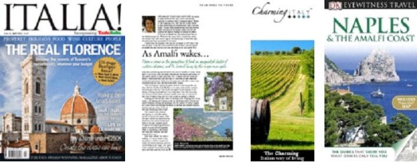 Laura Thayer Published Writing Ciao Amalfi