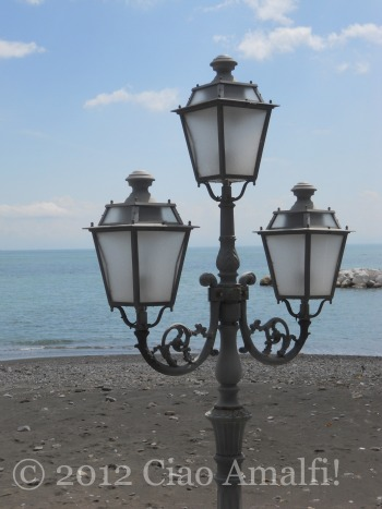 Atrani Beach in the Spring