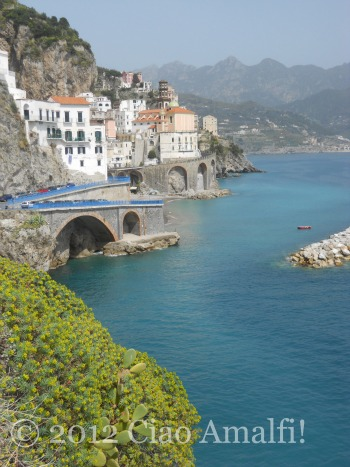 Atrani on the Amalfi Coast in the Springtime