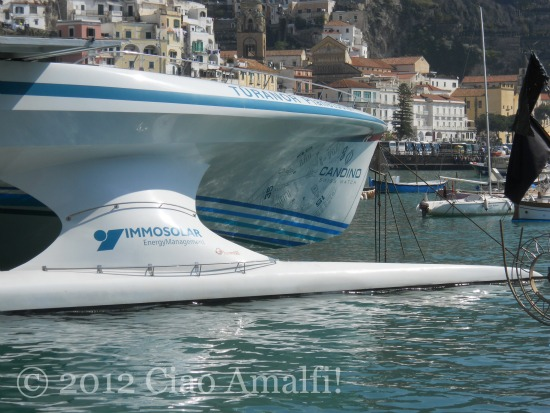 Ciao Amalfi Coast Blog Solar Powered Boat