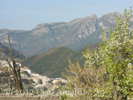 Spring on the Amalfi Coast Mountains